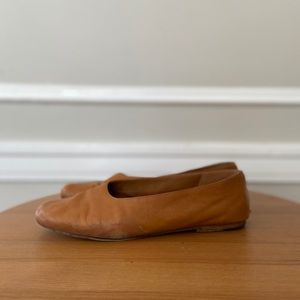 Vince leather flats